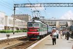 Перрон станции Барабинск